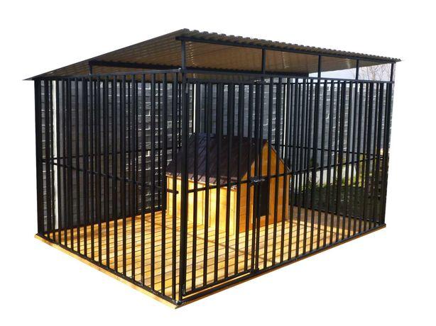 Kojec dla psa Wzmocniony SOLIDNY box dla psa MOCNY kojce PRODUCENT