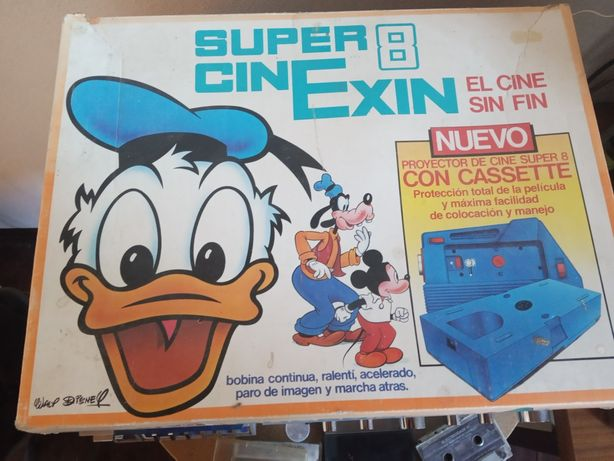 Vendo super 8 cinexin da Disney