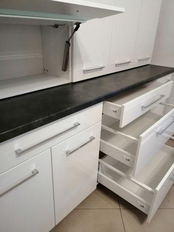 Kuchnia, meble kuchenne modułowe280cm front połysk, Cichy domyk