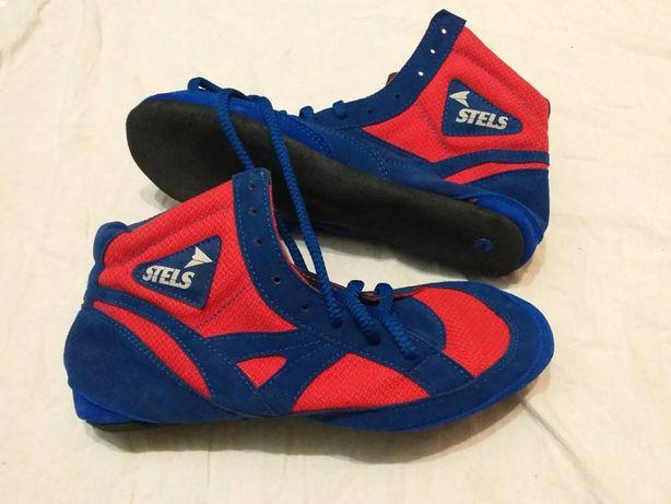 Обувь для самбо Stels натуральная замша продам