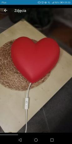 Lampka IKEA serce dziecięca
