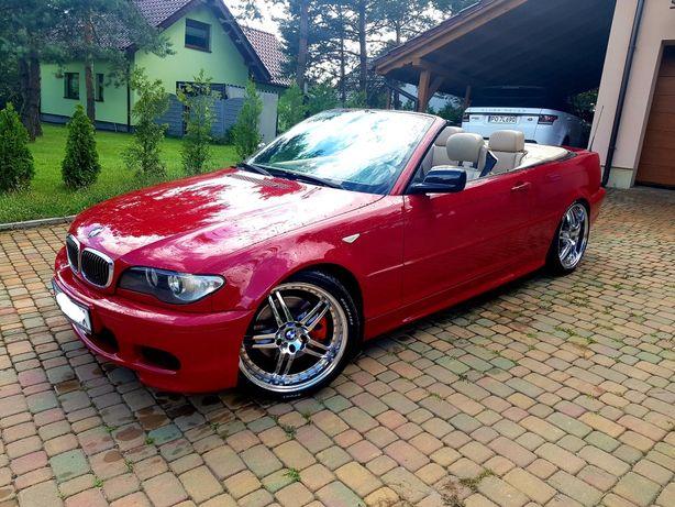 BMW e46 cabrio m pakiet 330Ci lift zamiana