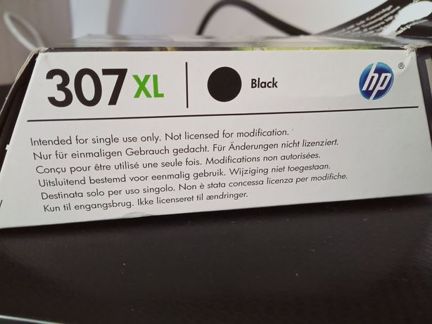 Tusz do drukarki HP 307 xl black