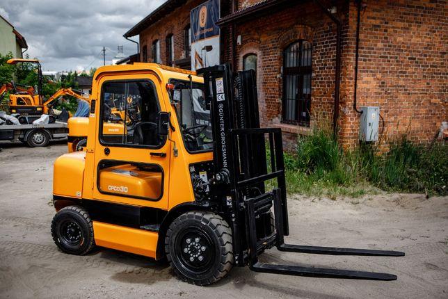 2.5T Nowy Wózek z kabiną z UDT. Najtaniej w Polsce