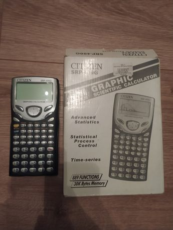 Kalkulator naukowy Citizen SRP-400G