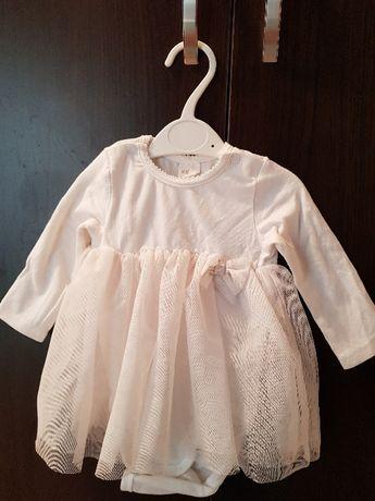 body, sukienka, chrzciny, rozmiar 62