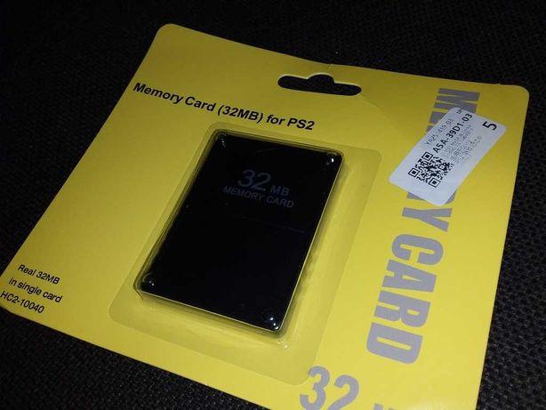 Карта памяти Memory card Sony ps2 32 MB