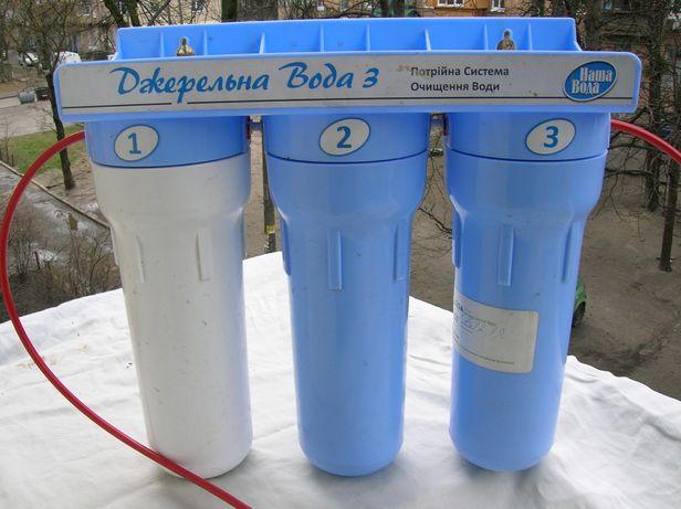 джерельна вода 3 фильтр для воды