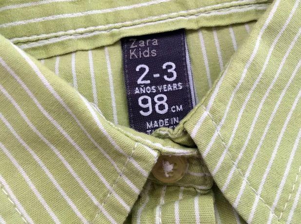 Koszula z długim rękawem dla dziewczynki ZARA Kids, rozm. 98 cm