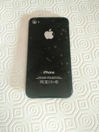 Parte traseira iPhone 4S Preto/Black