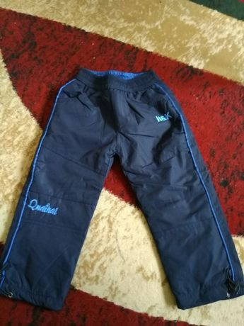Spodnie zimowe chłopięce