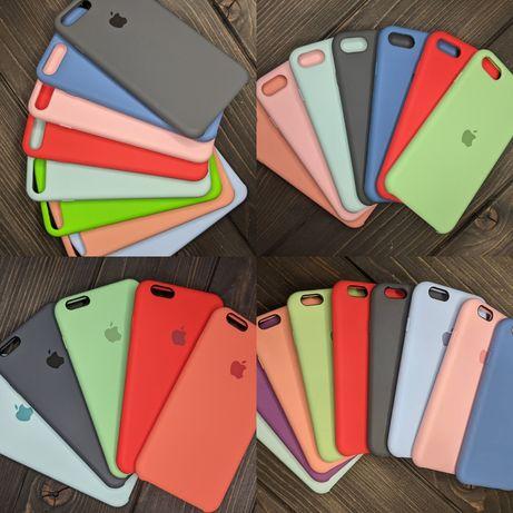 Чехол на айфон IPhone 6/6s/7/7p/8 plus SE2 логотип Apple