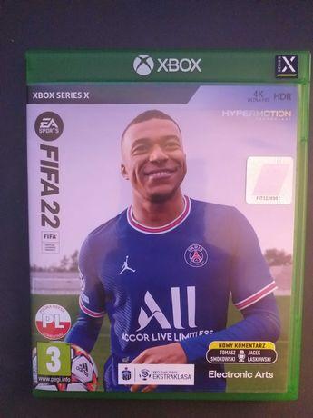 Fifa 22 nowa Xbox series X