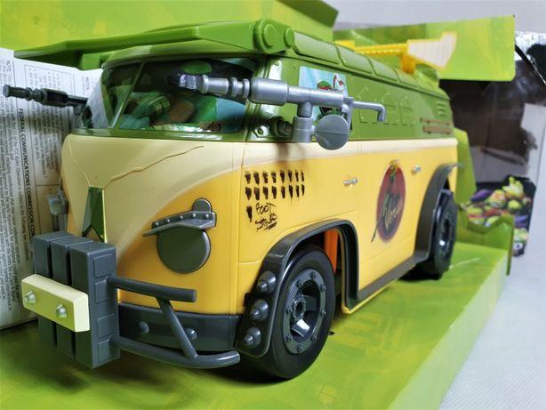 Zdalnie sterowany samochód Turtles Party Van Wojownicze żółwie Ninja A