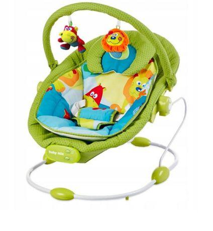 Leżaczek niemowlęcy Baby bouncer 0+ z baby mixa
