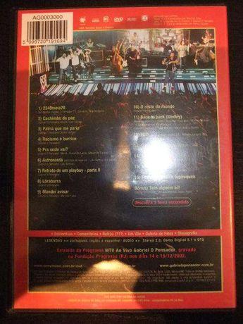 DVD Gabriel o Pensador - MTV ao vivo