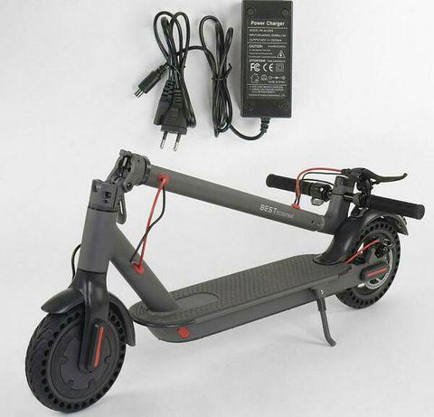 Электросамокат Best Scooter мотор 350W до 25 км/ч, Серый
