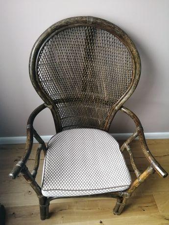 Krzesło, Fotel Rattanowy