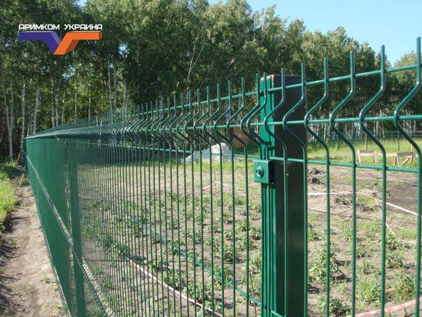 Забор из сетки 131 грн. за м.п. в наличии на складе