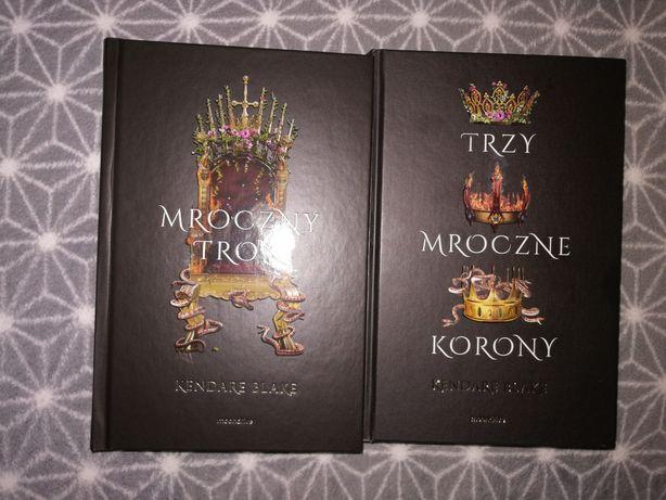 Mroczny tron i trzy mroczne korony kendare blake moondrive