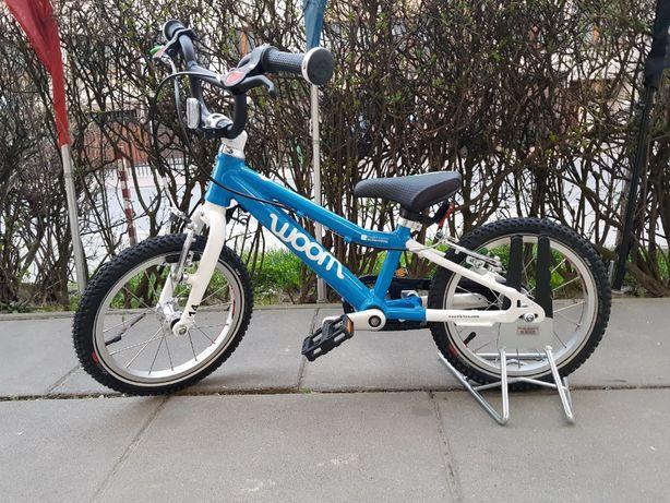 Rower dziecięcy WOOM 2 (14'') niebieski dla dzieci