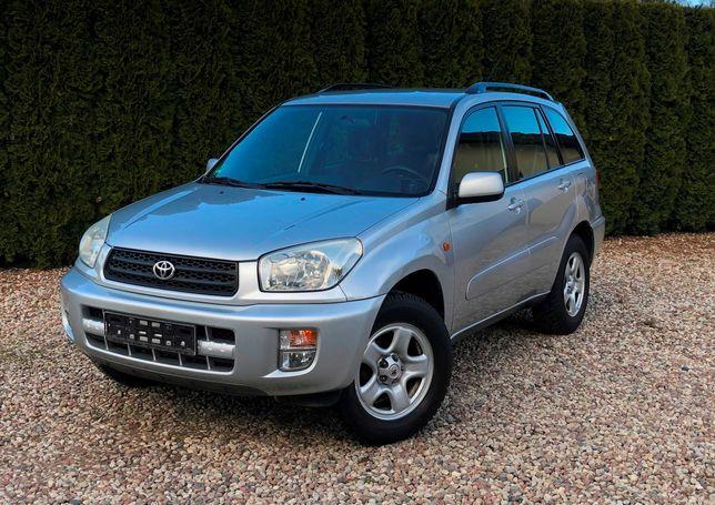 Toyota Rav 4, 126 tys. km 1.8 16V,Serwis do końca, IDEALNA, z Niemiec