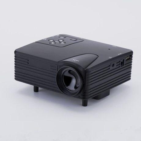 Проектор LED Мини Портативный H80 Full HD 1080p с динамиком