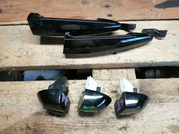 Klamka Zewnetrzna Prawa Lewa BMW 1 E87 Schwartz 2 Czarna Rozne kolory