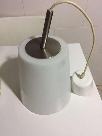 Candeeiro Ikea Branco