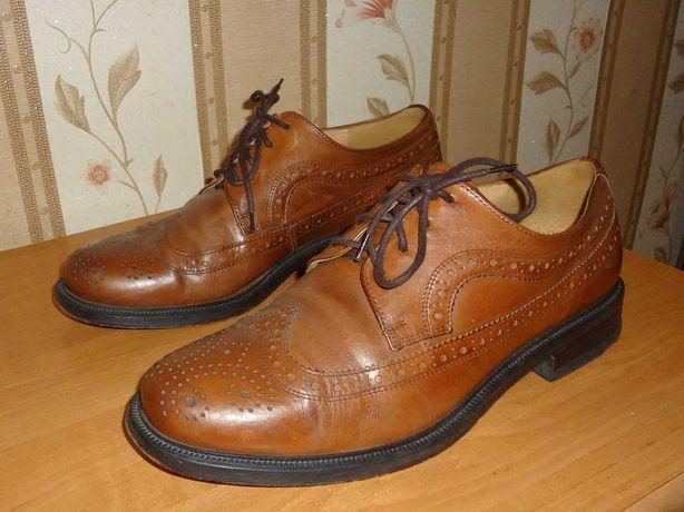 Мужские кожаные туфли LLOYD, размер 42,5(28),8,5, Германия.