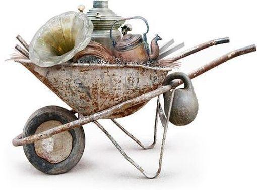 Вывоз хлама лома металлолома.