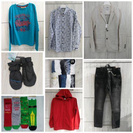 Пиджак Zara рубашка Cool club джинсы носки комплект трусы худи Next
