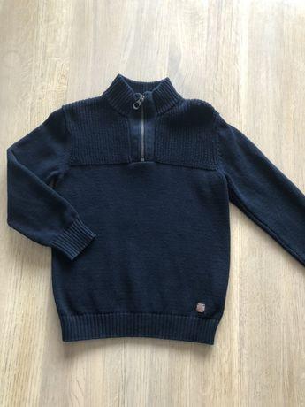 Granatowy sweterek Zara , rozm 6lat