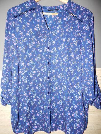 Koszula,bluzka kwiaty 42-44r