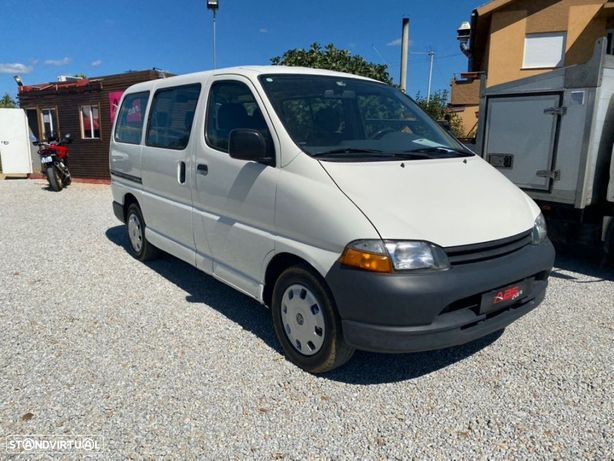 Toyota hiace 2.4 d 9 lugares