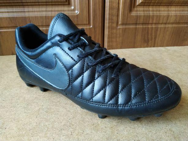 Кожаные бутсы Nike Majestry FG 40 копы Adidas X mercurial tiempo