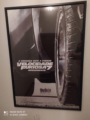Poster Fast & Furious Velocidade Furiosa 7