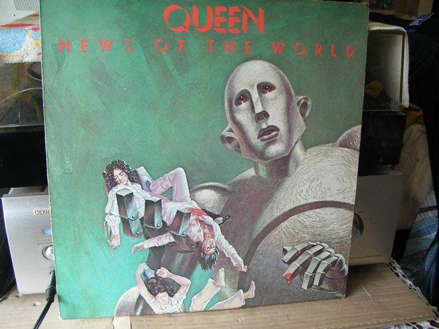 Płyta winylowa Queen A News of The World 1 Press LP