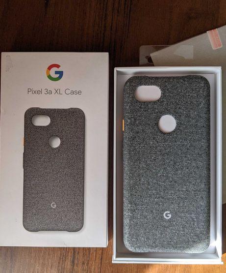 Чохол /чехол Google Fabric Case Pixel 3a XL + захисне скло