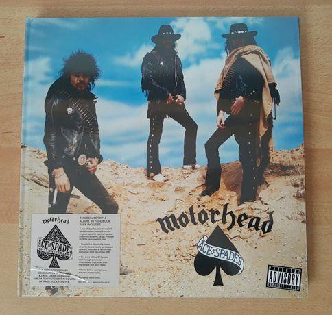 "Motorhead ""Ace of Spades"" 3LP Ed. 40 anos em Livro Deluxe"