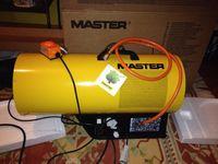 Aquecedor gáz Butano/Propano de potência variável 49-73 kw automático