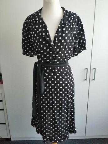 F&F sukienka w groszki retro 48 stan idealny