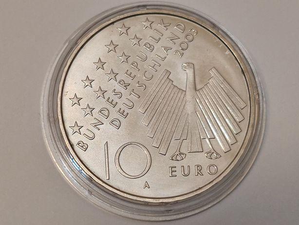 2003r. 10 euro moneta Gedenkmünze 50Jahre 17. Juni 1953 UNC (A)