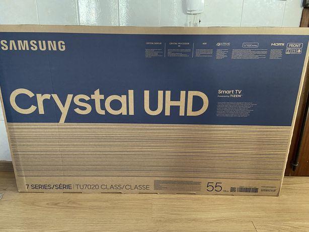 TV cristal Uhd 4k lacrada 55 polegadas