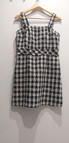 Sukienka czarna -biała firmy Orsay rozmiar 38