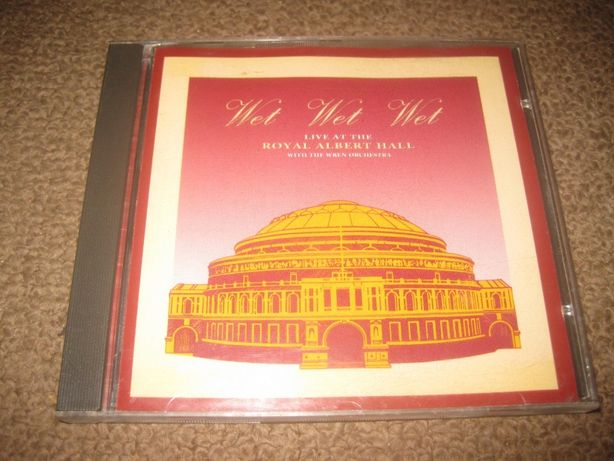 "CD dos Wet Wet Wet ""Live at the Royal Albert Hall"" Portes Grátis"