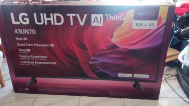 """TV LG LCD 43"""" partido - nunca usada"""