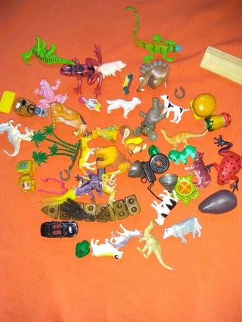 Игрушки из киндера звери