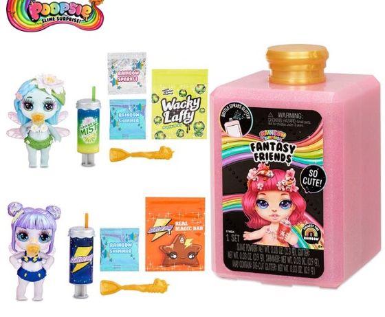 Кукла + слайм Poopsie Fantasy Friends Rainbow Surprise Оригинал!