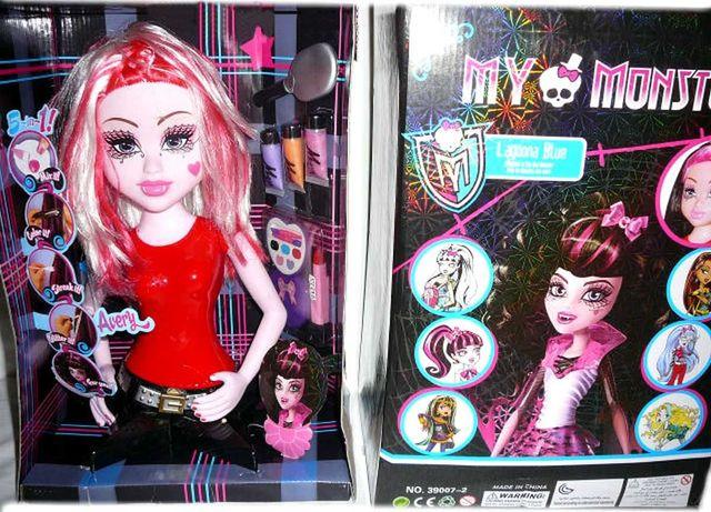 """ХІТ ПРОДАЖУ Монстер хай лялька манекен для зачісок """"Monster High"""""""